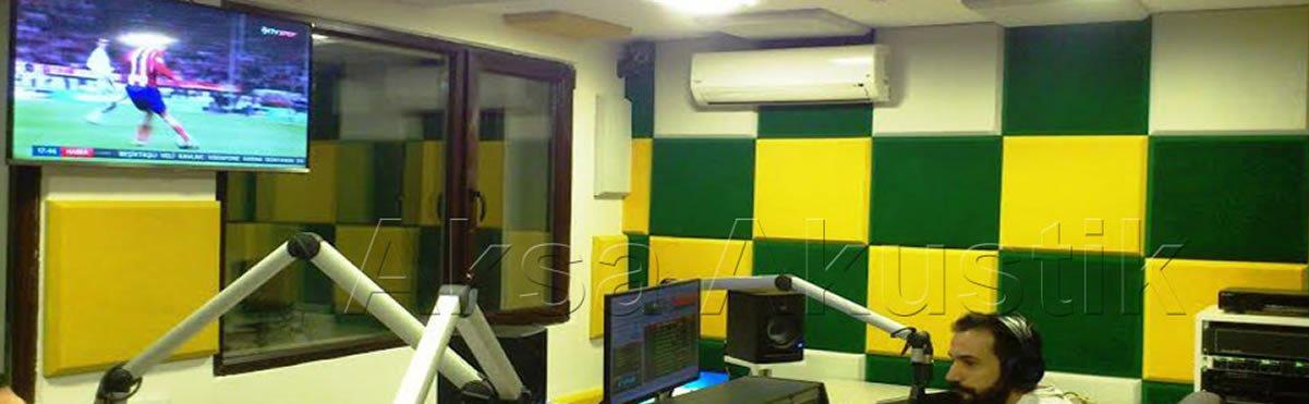 Ankara Vizyon Radyo - Tekno Touch Sünger Duvar ve Tavan Uygulaması