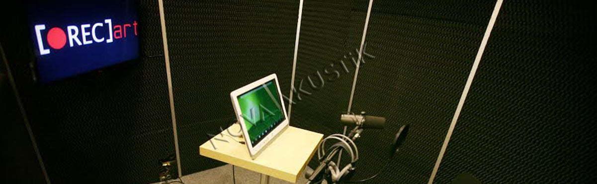 Akustik Spesiyal Sünger Stüdyo Ses Yaltımı Uygulaması