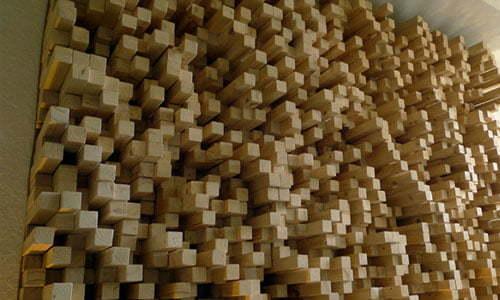 Difüzor Ahşap Akustik Panel