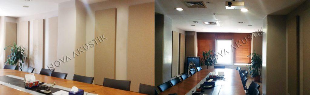 Kumaş Panel Duvar Uygulaması