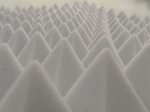 akustik basotect melamin piramit sünger