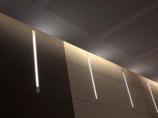akustik delikli panel