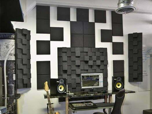 akustik düz sünger