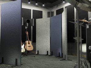 akustik ses emici paravan