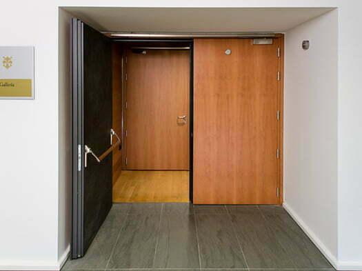 akustik ses yalıtımlı kapı