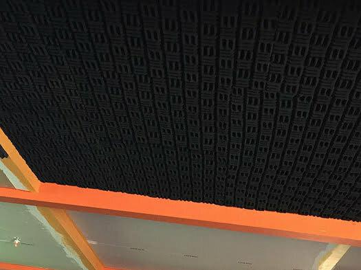 akustik yanmaz labirent sünger