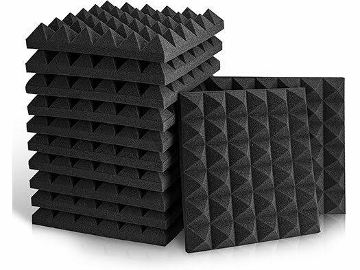 akustik yanmaz piramit sünger
