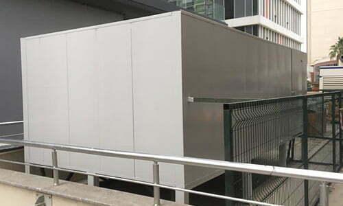 soğutma odası kabini ses yalıtımı mekanik ortamlar