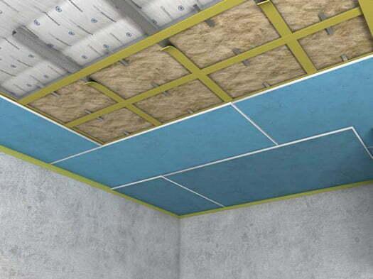 tavan ses yalıtımı gürültülü ortamlar