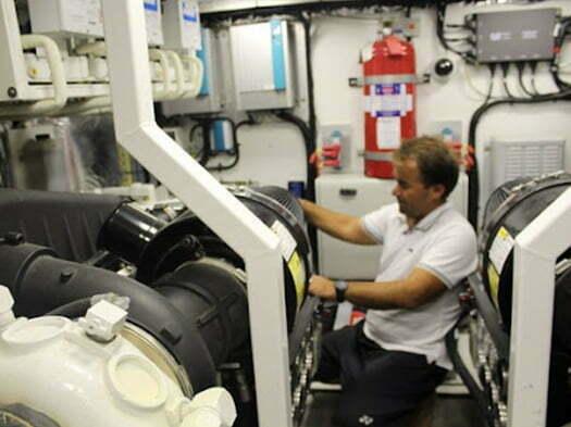 tekne motor kabini ses yalıtımı